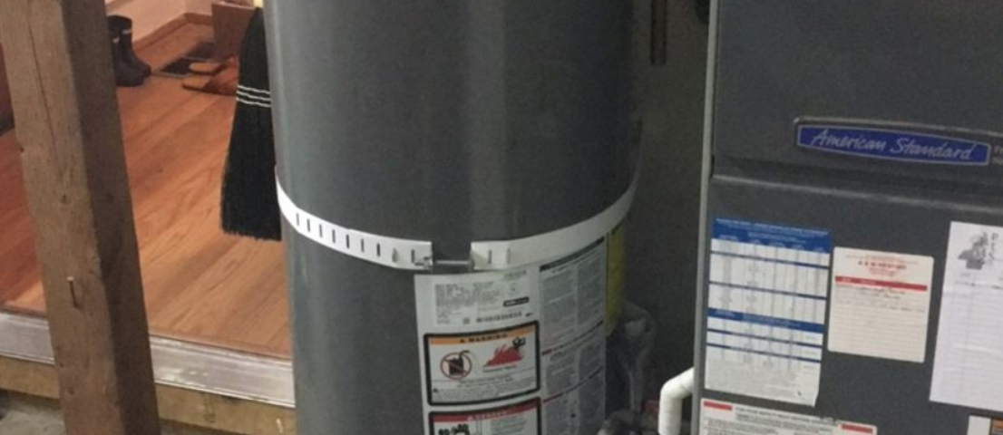Gas Water heater Install